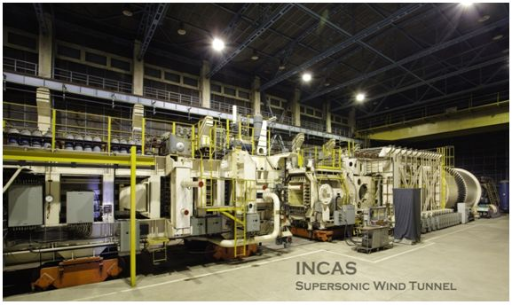 INCAS_Supersonic_Wind_Tunnel